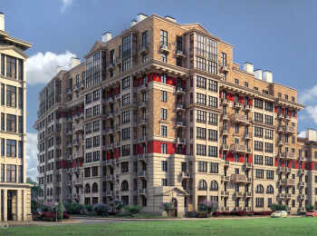 Дом формата классика smart в жилом комплексе Лайково
